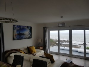 what a view . New lighting in Looe