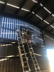 new fan and cladding